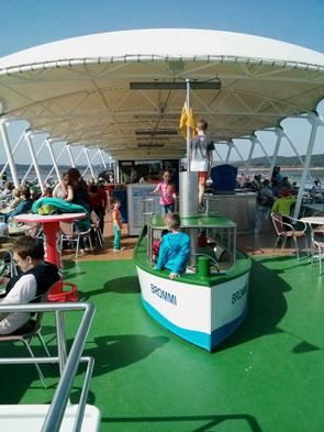 MS Brombachsee: Spielplatz Brommi für kleine Kinder