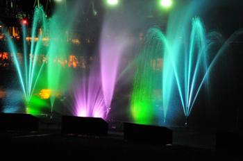 Wasserspiele am Großen Brombachsee