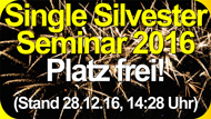 Single Silvester Seminar 2016 Weinheim