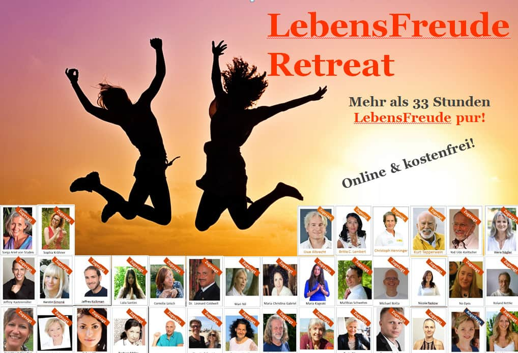 Online Lebens Freude Kongress 2016 OnlineLebensFreudeRetreat