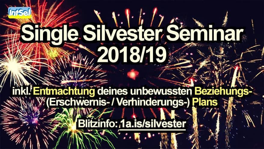 Single Silvester 2018 Seminar mit Matthias Schwehm
