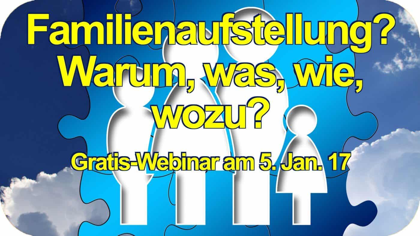 Familienaufstellung Familienstellen Gratis Video Workshop Live Webinar kostenlos Matthias Schwehm